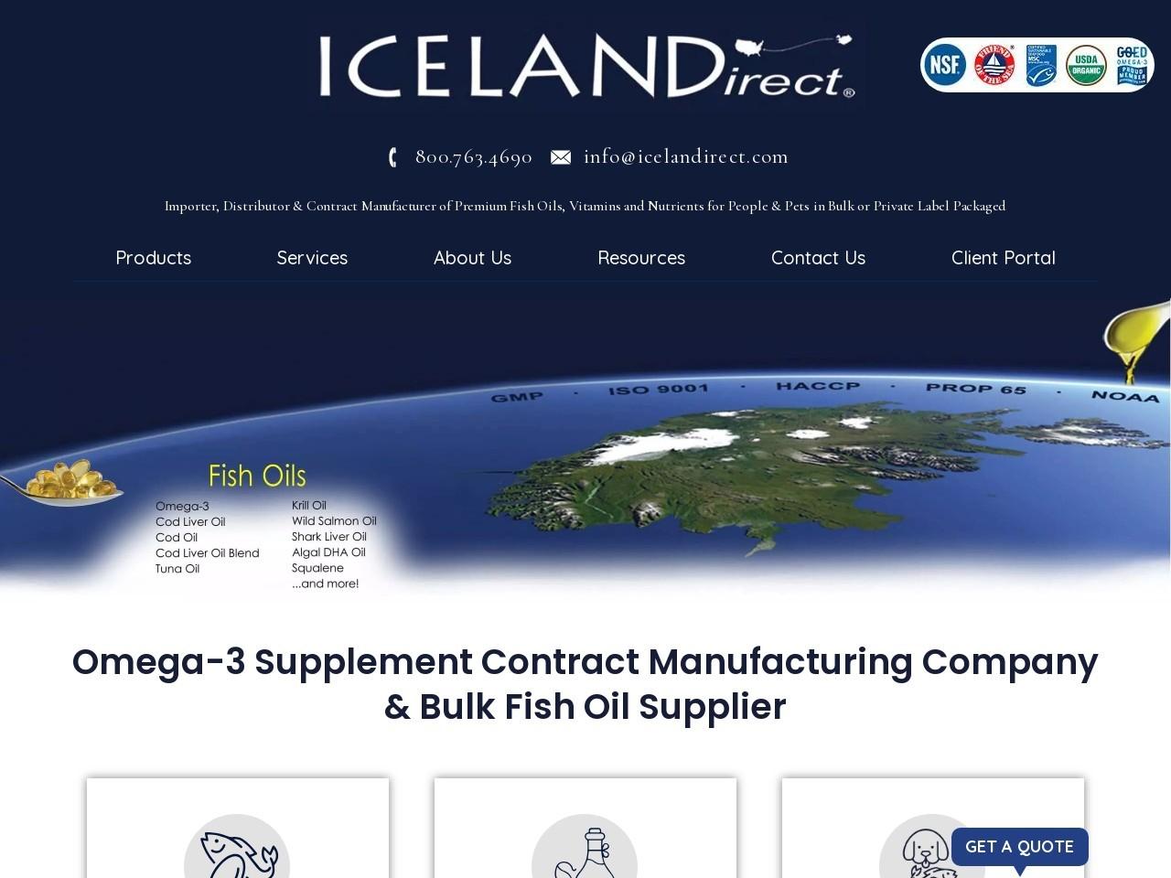 Vegan Omega 3 Supplement | Icelandirect
