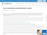 APAC Smart Card market projected to hold the largest share in 2020