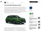 The new Peugeot 308 Plug-in Hybrid