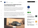 The world premiere of IONIQ 5 in Europe