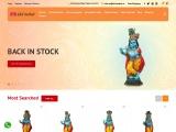 lord krishna statue for home -big krishna statue online -krishna idol at home