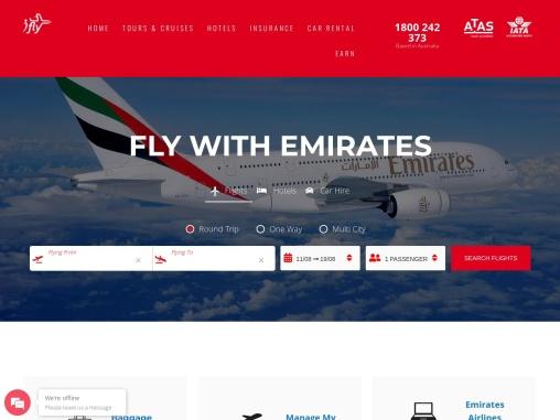 Emirates airlines flights