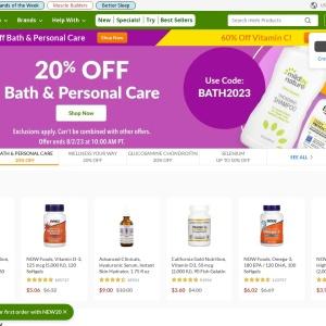 iHerb.com - ビタミン・サプリメント & 天然健康製品