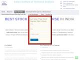 Best stock market courses in Bhubaneshwar