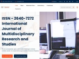 Journal of Engineering Research – IJMRAS