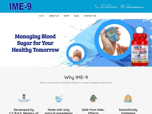 IME 9 Ayurvedic Sugar Medicine