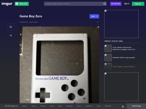 Game Boy Zero - Album on Imgurのスクリーンショット