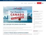 Top 5 Reasons for Canada Visa Refusal