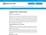Most Valuable Terms And Conditions – ImpressionVille