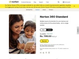 Norton 360 Standard for you and your family; Offering Several layers of security for your gadgets