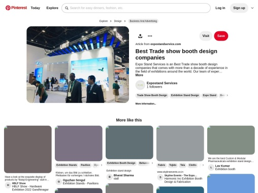Best Trade show booth design companies