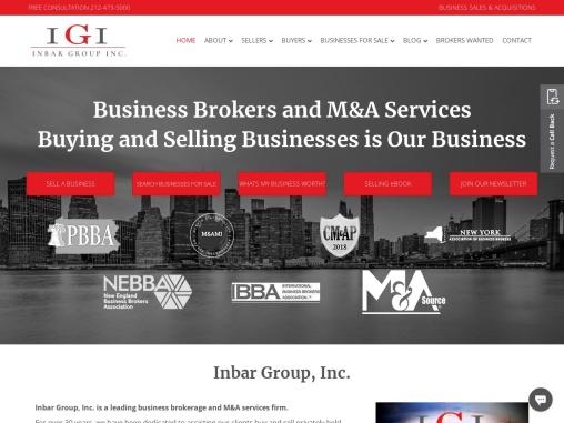 CT Business Broker | NYC Business Broker | Maine Business Broker | Inbar Group
