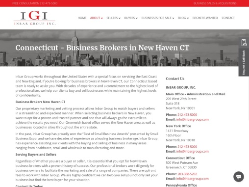 Business Brokers in New Haven CT | New Haven Business Brokers