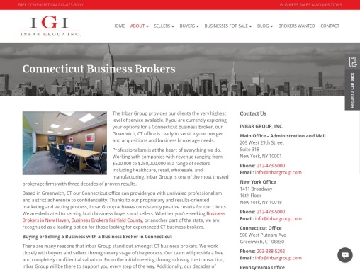 Connecticut Business Broker | CT Business Broker | Business Brokers in CT