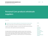 Personal Care Products Wholesale Suppliers – IndiaBizzness – Buy Personal Care products Online