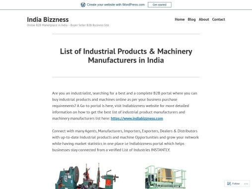 B2B Ecommerce Platform for Industrial Products and Machinery Manufacturers Buyers Sellers Exporters