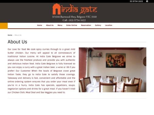 Fine Dining, Best Indian Restaurant Belgrave, Order Online Food Belgrave – Au