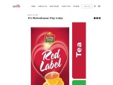 It's Refreshment Day today – red label tea