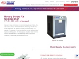 RotaryScrew type air compressor