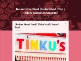 Indore street food | Indori food | Top 5 Indore famous Restaurant