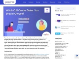 Which Call Center Dialer You Should Choose?