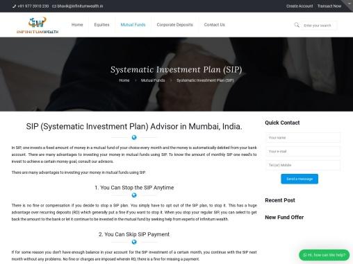 Mutual Fund SIP Advisor in Mumbai