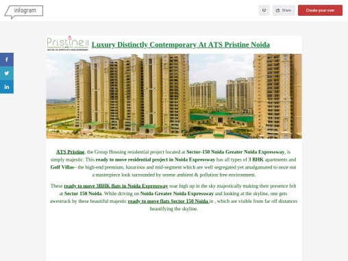 ATS Pristine Ready to Move Project in Sector 150 Noida
