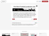 Find Best football prediction site