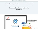 RescueData Data Recovery Software for Windows 10