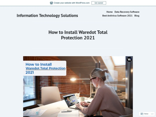 How To Install Waredot Total Protection 2021