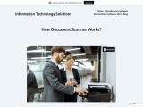 How Document Scanner Works? | Scandie