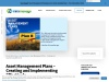 Asset Management Plans – Creating And Implementing Effectively
