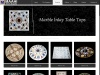 Best Marble Inlay Table Tops