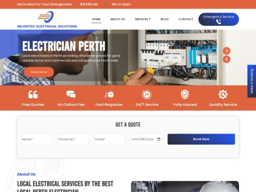 Best Electrical Contractors in Perth, Australia – Inlightech Electrical Solutions