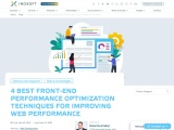 FRONT-END OPTIMIZATION – 4 TIPS TO IMPROVE WEB PERFORMANCE