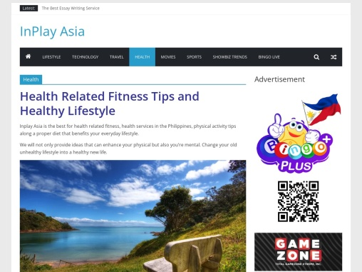 Health Related Fitness Tips and Healthy Lifestyle | Inplay Asia