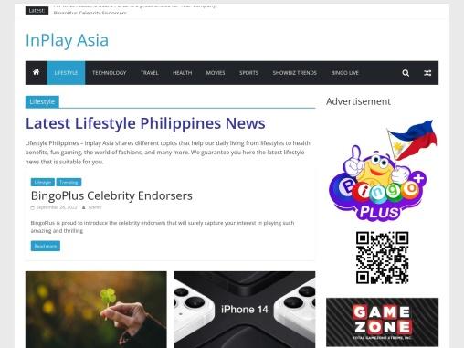 Latest Lifestyle Philippines News | Inplay Asia