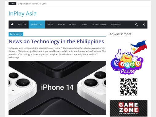 News on Technology in the Philippines | Inplay Asia