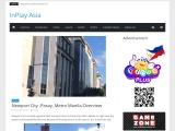 Newport City -Pasay, Metro Manila Overview | Inplay Asia Travel