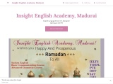 Insight English Academy, Madurai – Most affordable Centre for IELTS TOEFL PTE OET!