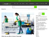 What do we offer in home cleaning?