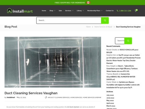 Best Duct Cleaning Services Vaughan