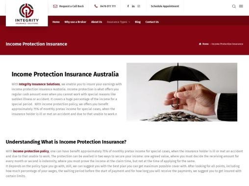 Income Protection Insurance Australia