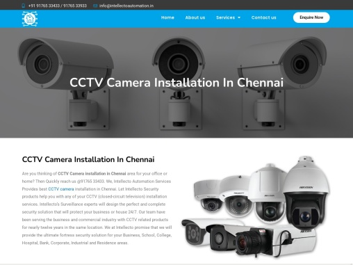 CCTV Camera Installation In Chennai