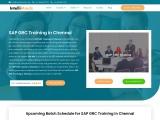 SAP GRC Training in Chennai | intellimindz