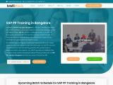 sap pp training in bangalore IntelliMindz is the best IT Training in Bangalore with placement, offer