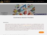 Ecommerce Solution Providers| Ecommerce Solution