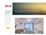6 Highly Picked Febric Options To Make Curtains – Decor La Rouge –  Interior Design Agency