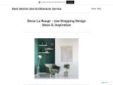 Best Interior Design Agency – Decor La Rouge   WordPress