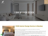 1 BHK Interior Design | Flat Interior Designers in Mumbai, India